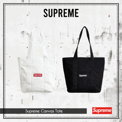 {Supreme} Supreme Canvas Tote 送料関税込