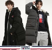 TOMMY JEANS★正規品★Badge Long Down Coat /安心追跡付
