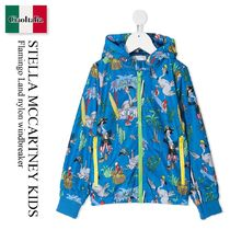 Stella Mccartney Kids Flamingo Land nylon windbreaker