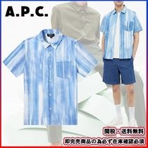 即完売商品★A.P.C.-アーペーセー★SHORT SLEEVE JOSEPH SHIRT