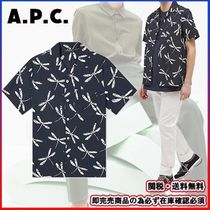 即完売商品★A.P.C.-アーペーセー★SHORT SLEEVE EDD SHIRT