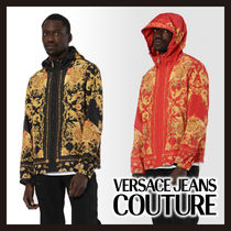 【Versace Jeans Couture】バロック ウィンドブレーカー