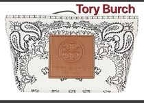 Tory Burch Gracie Printed Canvas Cosmetic Pouch