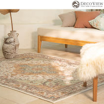 DECO VIEW(デコヴュー)★Orange Mint Persian Drawing Rug-1