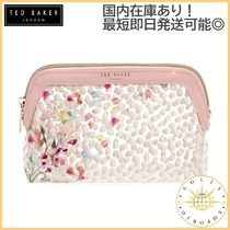 TED BAKER(テッドベーカー) ポーチ 【TED BAKER・送料込】Ginerva 花柄メイクアップクリアポーチ
