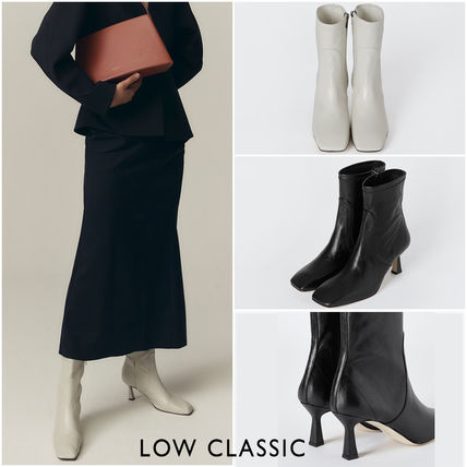 ★ LOW CLASSIC ★ STILETTO MID BOOTS  ♪