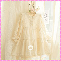 【ArimCloset】lovely natural lace pure cotton baby dress