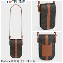 CELINE 21SS PHONE POUCH IN CALFSKINフォンポーチ 送料+通関込