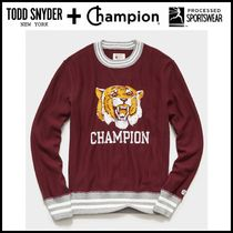 NEW ☆Todd Snyder + Champion☆ CHAMPION TIGER SWEATSHIRT