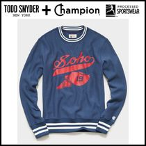 NEW ☆Todd Snyder + Champion☆ CHAMPION SOHO SWEATSHIRT