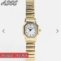 ◆ASOS◆ Limit Octagonal expanding bracelet watch*Gold*
