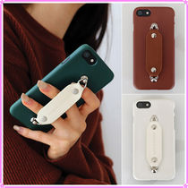 【MIDNIGHT MOMENT.】leather grip case ver.2〜iPhone&Galaxy用