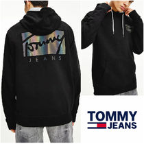 UK発★TOMMY JEANS 'ESSENTIAL SIGNATURE LOGO' パーカー
