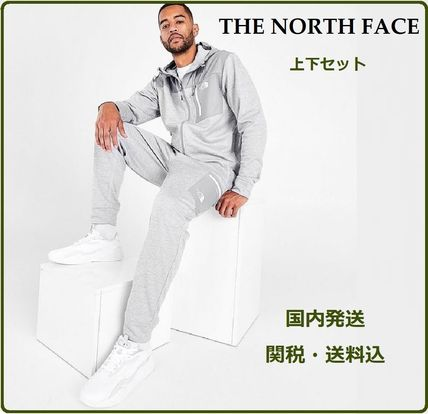上下セット【The North Face】OVERLAY FULL-ZIP HOODIE & PANTS