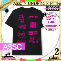Anti Social Social Club UNDEFEATED X F1 Tee ASSC アンチ