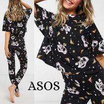 【ASOS】pizza in space  Tシャツ&レギンス セット ※送関込