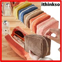ithinkso(アイシンクソー) メイクポーチ ☆韓国の人気☆ITHINKSO☆DAY MAKE-UP POUCH コーデュロ.イ☆
