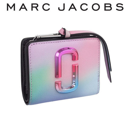 MARC JACOBS THE SNAPSHOT 財布 M0016783-301 GREEN MULTI