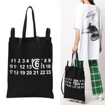 【Maison Margiela】MM6 Number Logo Tote ブラック