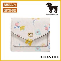 【COACH】Wyn Small Wallet With Floral Print◆国内発送◆