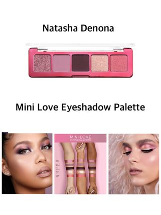 NATASHA DENONA アイメイク 〈Natasha Denona〉★2021SS★ Mini Love Eyeshadow Palette