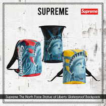 {Supreme} The North Face Statue of LibertyWaterproofBackpack