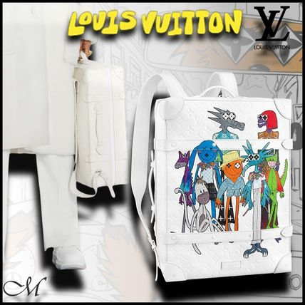 《LOUIS VUITTON 直営店》LV SS21 新作 SOFT TRUNK バックパック