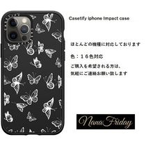 Casetify iphone Impact case♪White Butterfly♪