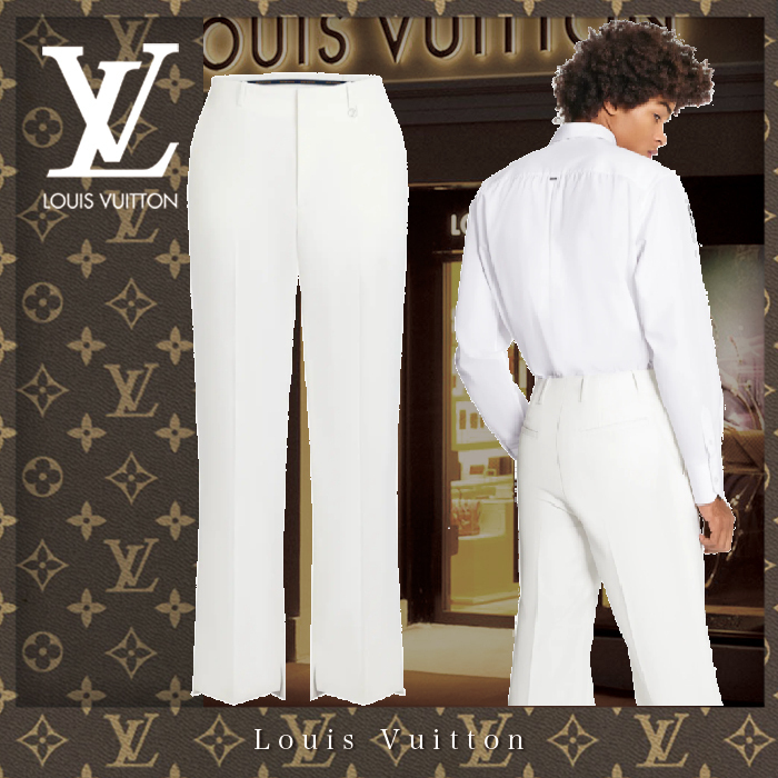 21SS 直営買付 Louis Vuitton ブーツカットトラウザー★ブロン★ (Louis Vuitton/パンツ・ボトムスその他) 1A8P7R  1A8P7S  1A8P7T
