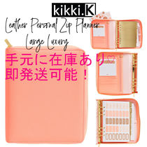 訳あり商品! 【kikki.K】LEATHER PERSONAL ZIP PLANNER L LUXURY