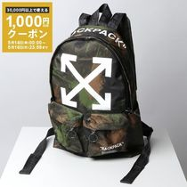 OFF-WHITE リュック QUOTE BACKPACK カモフラージュ