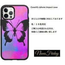 Casetify iphone Impact case♪Girly Pink, Purple, and Bl...♪