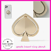 Kate Spade★Spade heart ring standスマホリング♪関税込
