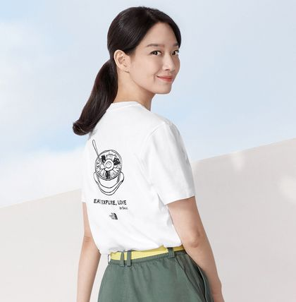 THE NORTH FACE Tシャツ・カットソー ★人気★【THE NORTH FACE】★CITY TRAVEL S/S R/TE.E★(2)