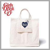 Human Made x Girls Don't Cry Gears トートバッグ ホワイト