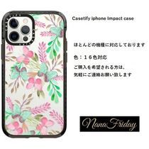 Casetify iphone Impact case♪Pink teal watercolor cute...♪