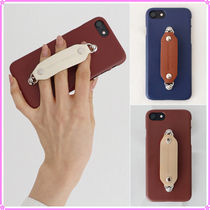【MIDNIGHT MOMENT.】leather grip case ver.4〜iPhone&Galaxy用