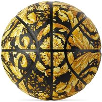 Black & Gold Barocco Basketball