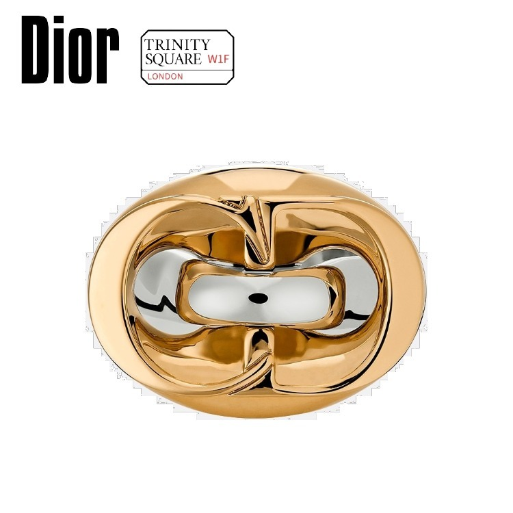 DIOR ディオール CD Chain Link Ring -Gold-Finish and (Dior/指輪・リング) 63947724