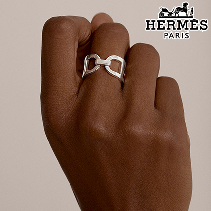 Bague Ever Chaine d'Ancre,【Paris直営店】 (HERMES/指輪・リング) 63949291