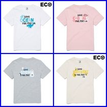 [THE NORTH FACE]K'S GREEN EARTH S/S R/TEE★