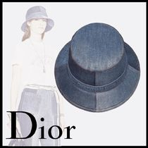 直営◆DIOR◆ DIOR PATCHWORK DENIM ボブハット ☆