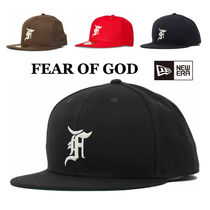 【FEAR OF GOD ESSENTIALS】New Era Fitted Cap FW20