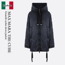 Max Mara The Cube Greenfe nylon down jacket