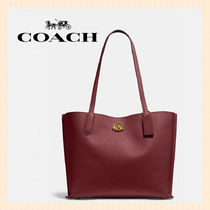【Coach】Willow Tote カラーブロック/ C0691
