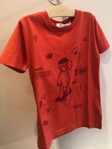 S01【Bonpoint】プリントTシャツ 10~12A (#151A)