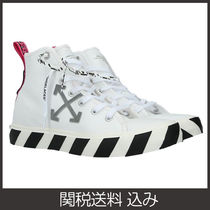 関送込【Off-White】VULCANIZED HIGH-TOP ニーカー