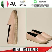 大人気★ESPADRILLAS SAINT LAURENT IN NAPPACON LOGO EMBOSSED
