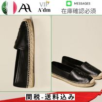 ESPADRILLAS SAINT LAURENT IN NAPPA CON LOGO EMBOSSED