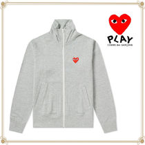 PLAY COMME des GARCONS(プレイコムデギャルソン) アウターその他 関送込★PLAY COMME des GARCONS★大人気ハートジップジャケット
